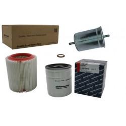Kit de filtros para Range Rover 3,5/3.9EFI hasta GA464553
