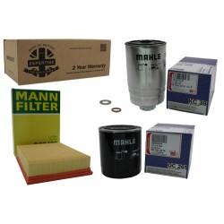 Kit de filtros para 300Tdi Discovery 1 y Range Rover