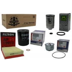 Kit de filtros premium para motores TD5
