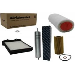 Kit de filtros para Discovery y Range Rover 200 TDI