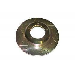 Disco de freno ventilado Terrafirma ranurado y perforado (Unidad)